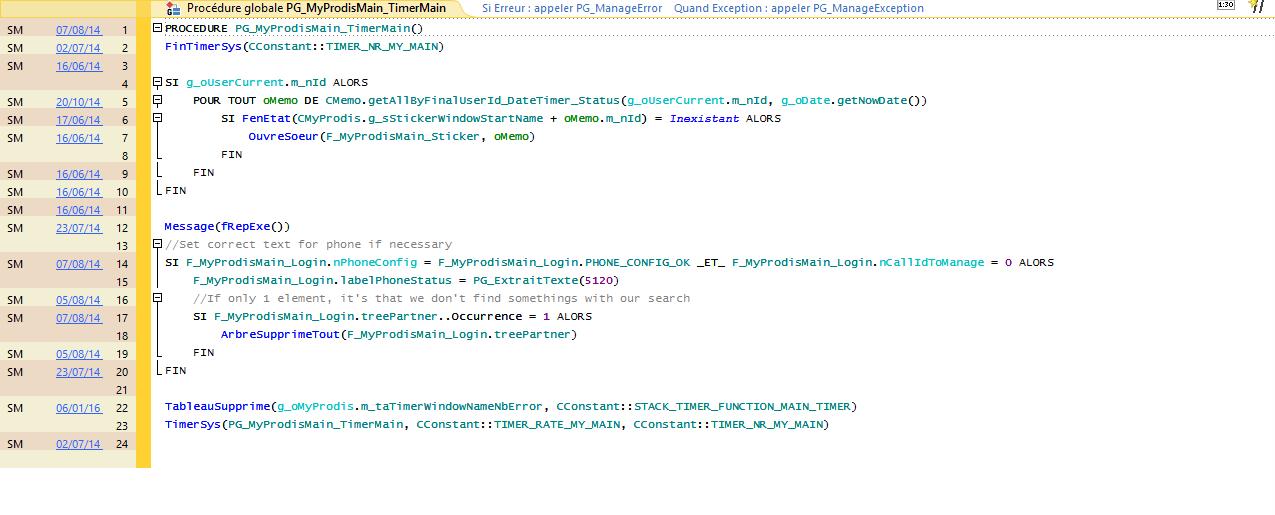 Utilisation d 39 une classe non charg e windev 23 forums for Utilisation d une carrelette