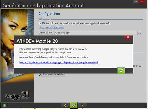 windev mobile localisation